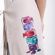 Иллюстрация-принт текстильными чернилами